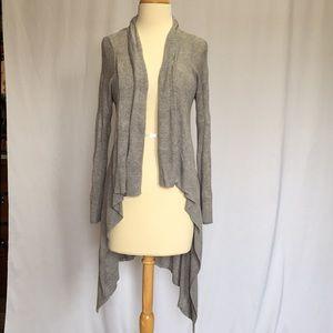Grey knit KENAR cardigan